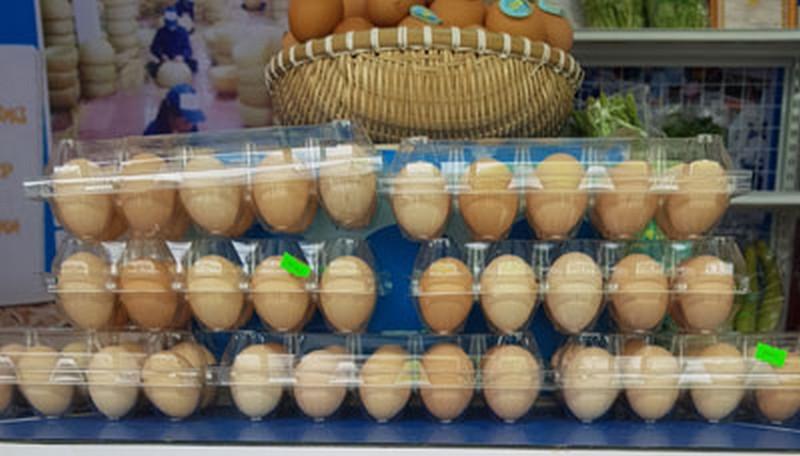Trứng gà siêu sạch