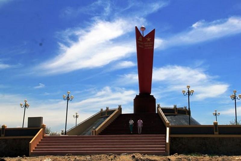 Tượng đài chiến thắng trận đầu của Hải Quân Việt Nam